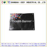 Matériel publicitaire extérieur froid/stratifié de haute résistance de drapeau de câble