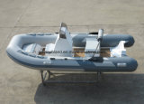 Aqualand 13pieds 4m Bateau de sauvetage gonflable rigide/Dinghy/pêche/River Boat (RIB400)