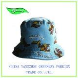 Крышка рыболовства Greeen детей вышивки способа красивейшая
