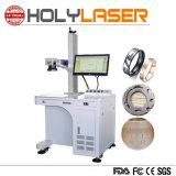 Metallaluminiumnamenskarten-Tierfaser-Laser-Markierungs-Gravierfräsmaschine