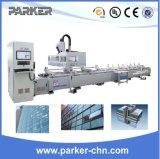 Centro de máquina de aluminio del eje del centro de mecanización del CNC del perfil 4