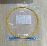 Cavo di zona ottico della fibra di modo Simplex3.0mm LSZH 1m del Sigle del grado Sc/Ipc-Sc/Upc di Telemcom