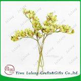 Hete Verkoop 10 Kunstbloem van de Aanraking van de Bloem van de Orchidee van het Latex van Hoofden de Echte