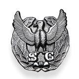 Fabricant de la Police militaire personnalisé Insigne métallique en alliage de zinc métal personnalisée OEM Épinglette