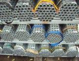 Производитель низкоуглеродистой стали с покрытием цинка белого цвета лесов трубы