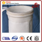 Repelente al agua y tejido de poliéster resistente al aceite bolsa filtrante