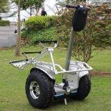 Motorino elettrico fuori strada del motorino 63 V 2400W 2 delle rotelle astute di versione 19inch Hoverboard di golf