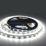 Alto brillo LED DE TIRA flexible de 5 metros de la luz de la luz de la violación CC12V Color blanco cálido 60LED LED tira de luces.
