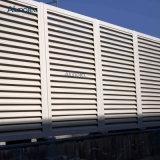 Casa de metal nas telas de Esgrima empurrador da fresta de alumínio de painéis