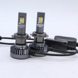 La luz de mini coche GT5 50W 6000LM H7 LED Lámpara de faro
