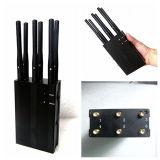 6 antenas portátiles de alta potencia de 3G// Gpsl WiFi Jammer1 (con el interruptor DIP) de la señal de celular Jammer