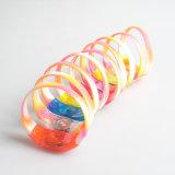 Braccialetto fluorescente di manopola di alta qualità della fascia di notte del silicone di gomma di incandescenza