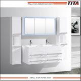 Banho de MDF Branco Brilhante vaidade TM8146A