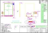 Heißer Verkauf 3.5 '' TFT LCD Bildschirmanzeige-Baugruppen-hohe Helligkeit TFT LCD mit Auflösung 320*480
