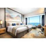 現代デザインヨーロッパ式の特定の使用のホテルのベッド部屋の家具