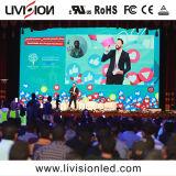 Indoor Location mur vidéo LED du panneau de l'écran P3.9 pour des événements