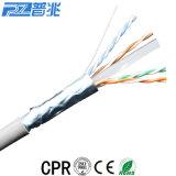 UTP Cat5e cabo de rede com cabo de rede padrão