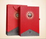 /Paperのギフト用の箱、ボール紙のギフト用の箱を包む2本のびんが付いている顧客用ワインのギフト用の箱か食糧ボックス