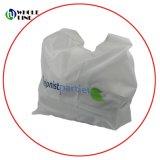 Durable Tote llevar envases reutilizables de plegado Nonwoven personalizada Bolsa de compras