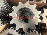 عجلة مسننة من الفولاذ ذات تجويف مستدق مخصص