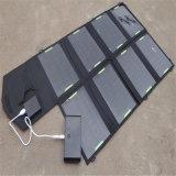 paquet de remplissage solaire extérieur portatif de 18V 28W