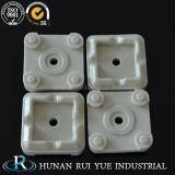 Peças cerâmicas personalizadas do Cordierite refratário