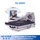 Camiseta de encargo de la foto de la máquina de la sublimación de la máquina de la prensa del calor de la camiseta
