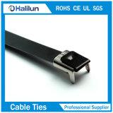 PVC покрыл тип связи замка крыла кабеля нержавеющей стали