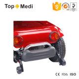 Motorino staccabile pieghevole di mobilità di energia elettrica di Topmedi con l'azionamento lampada e del cestino di acquisto