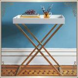 코너 테이블 (RS161301) 커피용 탁자 스테인리스 가구 홈 가구 호텔 가구 현대 가구 테이블 콘솔 테이블 탁자 측 테이블