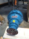 Предотвращают сход опорных катков серии 300, Электродвигатель привода планетарной передачи