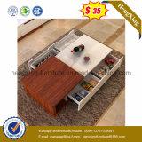 Piccolo tavolino da salotto di legno laterale del tè di disegno di modo della mobilia $35 (HX-CT017)