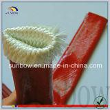 Résistance à la chaleur Manche en fibre de verre en caoutchouc et silicone ignifuge