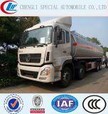 8X4 35000litros de aceite combustible del depósito de acero al carbono camiones de entrega