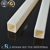 Lavorare di ceramica del tubo dell'allumina di elevata purezza 99.7% di 99% Al2O3/99.5%