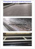 La vetroresina biassiale Geogrid 50kn ha ricoperto di bitume dell'asfalto