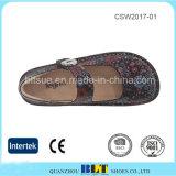 Dansko засорению Alegria верхняя часть из кожи высокого качества женщин обувь