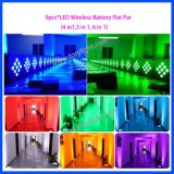 DMX BATERIA LED PAR 9 PCS*15W