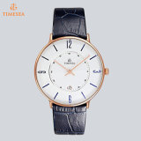Moda Quartz Watch Men with Leather Strap 72825