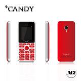 1,77 polegadas tela QVGA, Dupla cartões SIM Telefone com estrutura metálica