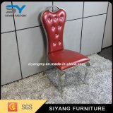 Venta caliente silla de acero inoxidable moderna