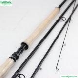 doppia pesca Rod passata della mosca 7/8wt di 13FT