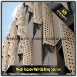 Китай для использования вне помещений на стену за фасадом панелей Алюминиевая оболочка