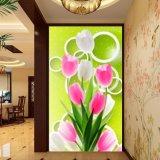 Картина тюльпана напечатанная цифров китайская для украшения вестибюля