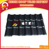 Telhas de telhadura espanholas da fibra de vidro espanhola decorativa da telha da resina sintética de telha de telhado do PVC do ASA