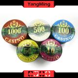 microplaquetas plásticas do póquer 760PCS ajustadas/microplaquetas acrílicas do casino ajustadas para os jogadores Ym-Focp001 do casino 5 - 8
