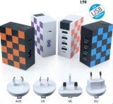 熱い販売の多機能のソケット4 USBのユニバーサルホーム充電器旅行充電器