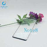 protector de doblez de la pantalla del vidrio Tempered del calor 3D para los accesorios de la célula de la galaxia Note8 de Samsung/del teléfono móvil