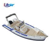 Barca di rifinitura 680 gonfiabili gonfiabili della nervatura del crogiolo di PVC Il-B680c del nuovo modello da vendere