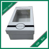 Tamanho personalizado de papelão branca caixa de oferta